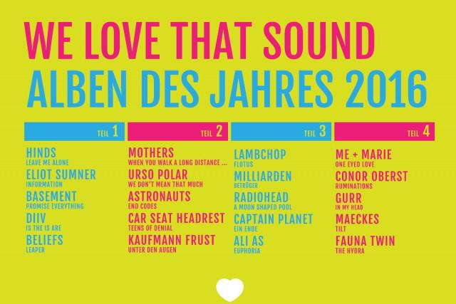 Die besten Alben 2016: Teil 4/4